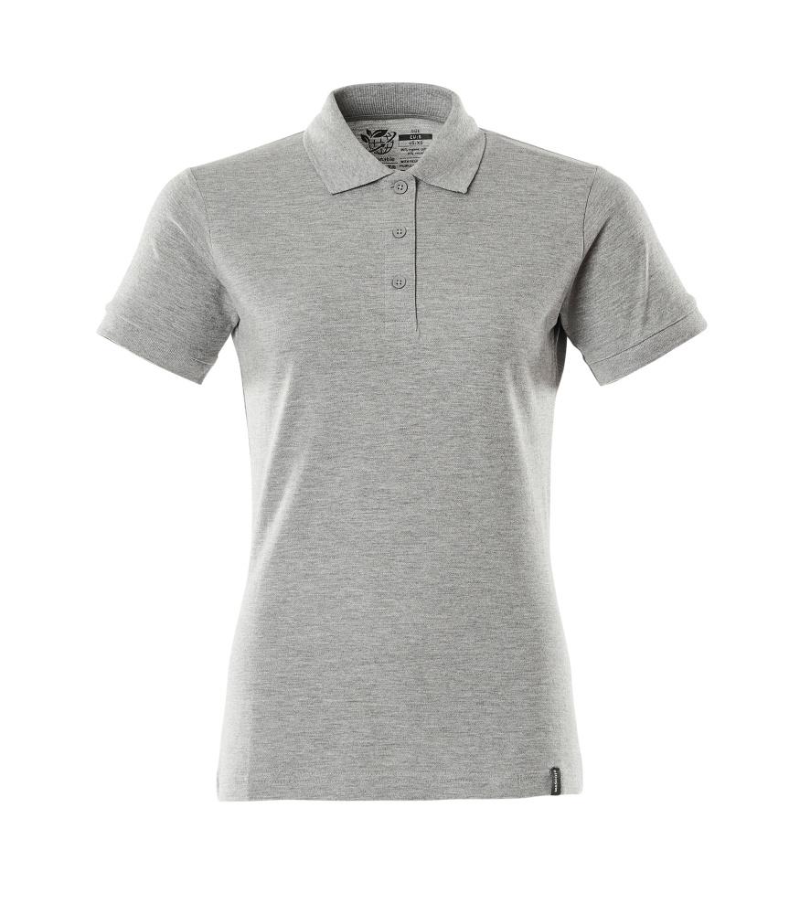20693-787-08 Koszulka Polo - szary nakrapiany
