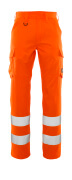 20859-236-14 Spodnie z kieszeniami na udach - pomarańcz hi-vis