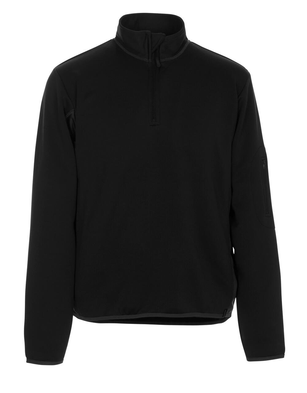 50068-828-0918 Bluza Polo - czerń/ciemny antracyt