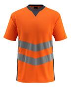 50127-933-14010 T-Shirt - pomarańcz hi-vis/ciemny granat