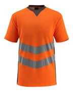 50127-933-1418 T-Shirt - pomarańcz hi-vis/ciemny antracyt