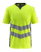 50127-933-1709 T-Shirt - żółty hi-vis/czerń
