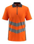 50130-933-14010 Koszulka Polo - pomarańcz hi-vis/ciemny granat