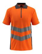 50130-933-1418 Koszulka Polo - pomarańcz hi-vis/ciemny antracyt