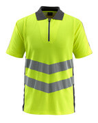 50130-933-1718 Koszulka Polo - żółty hi-vis/ciemny antracyt