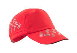 50143-860-222 Czapka z daszkiem - czerwień hi-vis