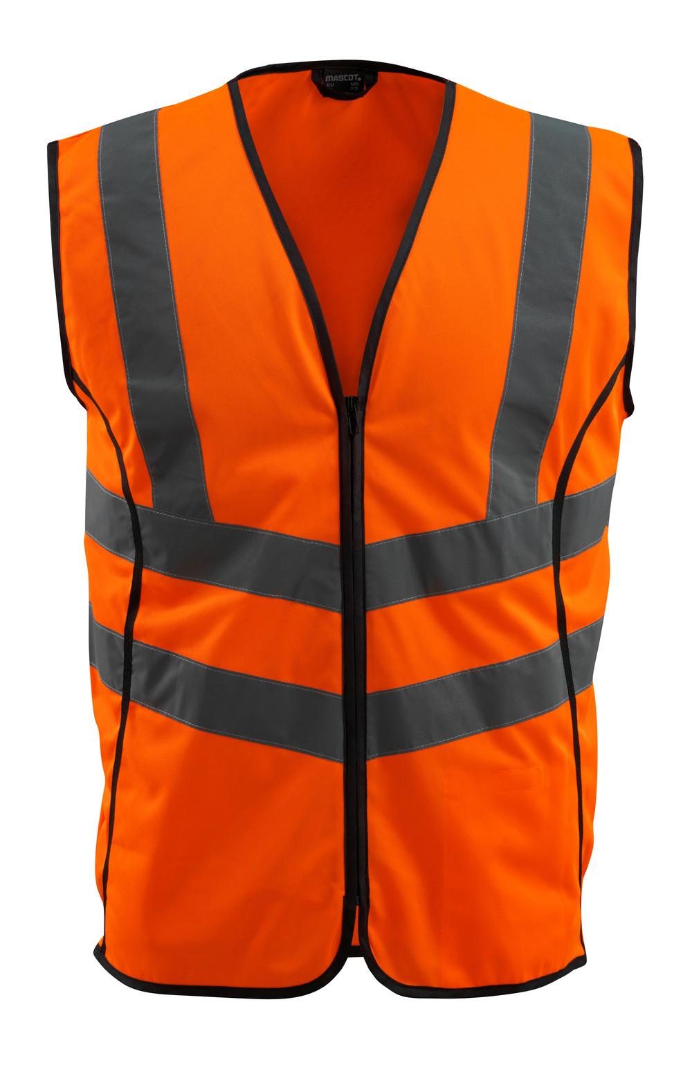 50145-977-14 Kamizelka ostrzegawcza - pomarańcz hi-vis
