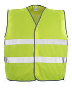 50187-874-17 Kamizelka ostrzegawcza - żółty hi-vis