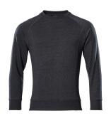 50204-830-73 Sweter - czarny denim