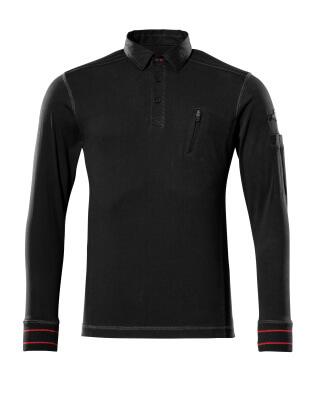 50352-833-09 Bluza Polo - czerń