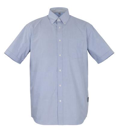 50377-887-B13 Koszula, z krótkimi rękawami - stalowy niebieski