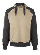 50508-811-5509 Bluza z Kapturem - jasny khaki/czerń