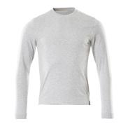 50548-250-08 T-Shirt, długimi rękawami - szary nakrapiany