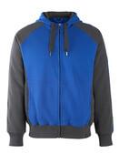 50566-963-11010 Bluza z Kapturem z zamkiem błyskawicznym - niebieski/ciemny granat