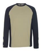 50568-959-1809 T-Shirt z długimi rękawami - ciemny antracyt/czerń