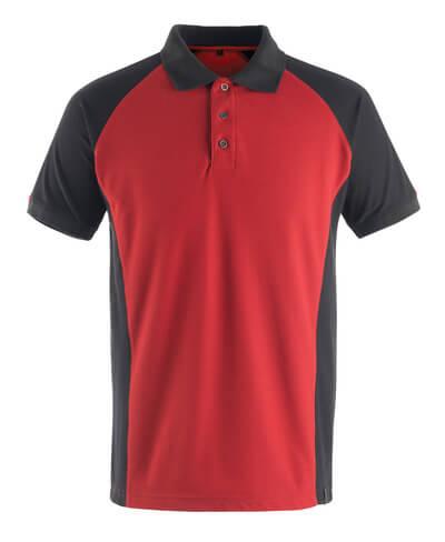 50569-961-0209 Koszulka Polo - czerwień/czerń