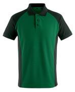 50569-961-0309 Koszulka Polo - zieleń/czerń