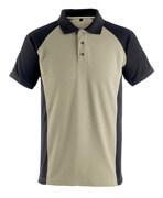 50569-961-5509 Koszulka Polo - jasny khaki/czerń