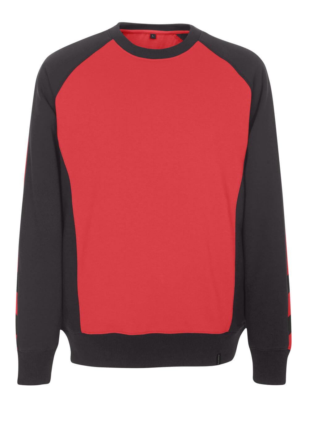 50570-962-0209 Sweter - czerwień/czerń