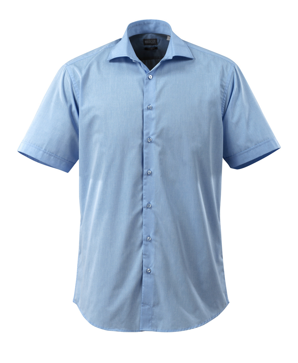 50632-984-71 Koszula, z krótkimi rękawami - jasny niebieski