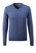 50635-989-41 Bluza z dzianiny - niebieski nakrapiany