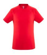 51579-965-202 T-Shirt - czerwień kubańska