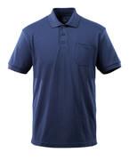 51586-968-01 Koszulka Polo z kieszenią na piersi - granat