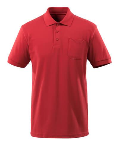 51586-968-010 Koszulka Polo z kieszenią na piersi - ciemny granat