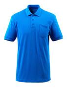 51586-968-91 Koszulka Polo z kieszenią na piersi - błękitny