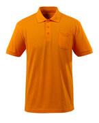 51586-968-98 Koszulka Polo z kieszenią na piersi - jasny pomarańcz