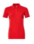51588-969-202 Koszulka Polo - czerwień kubańska