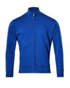 51591-970-11 Bluza z zamkiem błyskawicznym - niebieski
