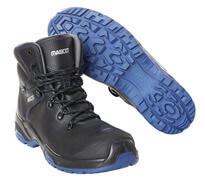F0141-902-0901 Buty ochronne - czerń/niebieski