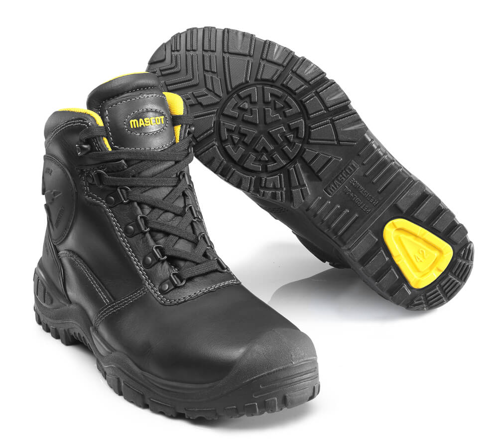 F0165-902-0907 Buty ochronne - czerń/zółty
