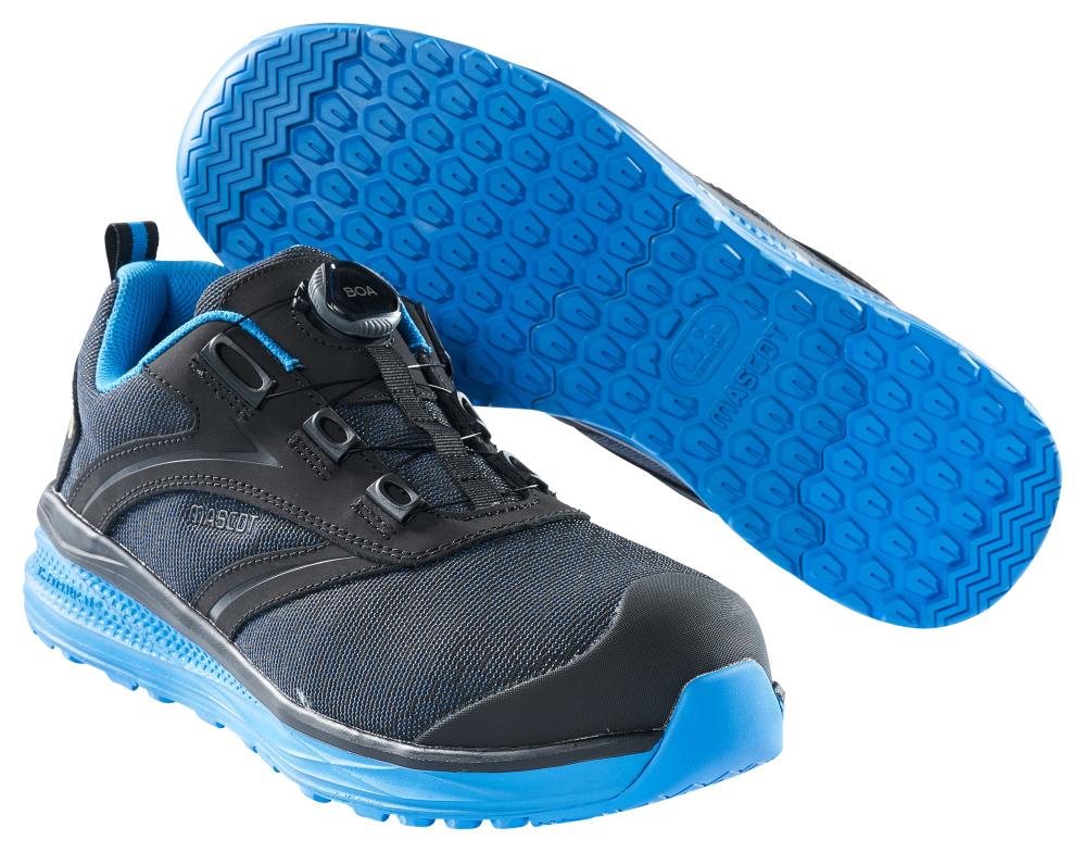 F0251-909-0911 Obuwie ochronne - czerń/niebieski