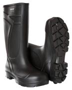 F0852-703-09 Wysokie buty ochronne z PU - czerń