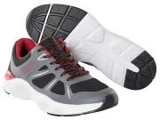 F0950-909-A84 Sneakersy - czerń/ciemny antracyt/czerwień